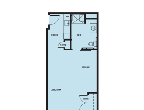 Studio B Bayport Floor Plan