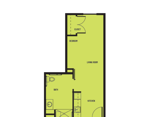 Studio D Superior Floor Plan